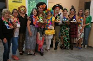 Equipe de Santa Thereza e os premiados