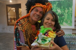 Paulo Veiga e Marilu da Luz