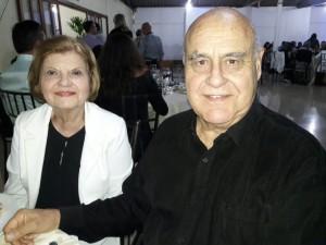 Isolda e Nei Mário Carneiro, jantar Cordeiro e Vinho, Rotary Rainha da Fronteira, clic Fábio Lucas