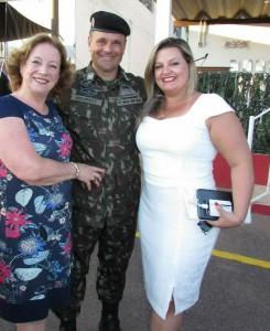 Ana Luisa, maj. Manuel Luis Badaraco Fagundes e Ana Marcela
