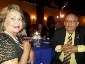 Odete e José Neri Silveira, na homenagem para Nei Mario Carneiro, clic Fábio Lucas