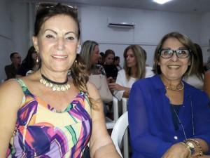- Clena Brito, Ana Luisa Brasil,  na plateia de Marcele Ceolin, Biblioteca Otávio Santos, clic Fábio Lucas