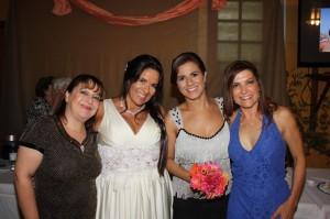 Andrea Gallo, Stela Vasconcellos, Taís Rocha, Mara Rocnhias