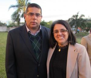 Gen. Hertz e Mirian, nos 60 anos do Museu Dom Diogo de Souza, clic Fábio Lucas