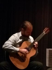 Prof. José Daniel Telles dos Santos , recital de violão em Buenos Aires