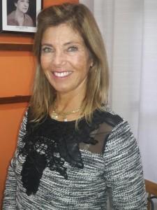 Alda Magda Gaffrée Dias, na tarde de  chá da Casa da Amizade, clic Fábio Lucas