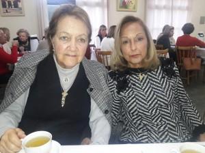 """Sônia Suñe, Iolanda Silveira, na """"hora do chá"""", Casa da Amizade, clic Fábio Lucas"""
