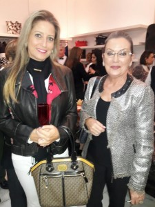 Fernanda Pereira Barbosa, Vera Marília Pereira Barbosa, evento do Grupo Amor Solidário,  loja MG, clic Fábio Lucas