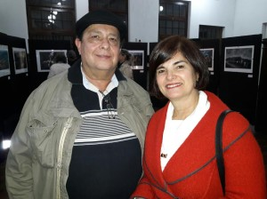 Marcos Pereira e Ana Lúcia Garrastazu , abertura da mostra: Patrimônio de Bagé, Julinho Pimentel, clic Fábio Lucas