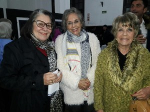 Maria Luisa Teixeira. Elvira Nascimento, Consuelo Cuerda, Patrimônio de Bagé, Julinho Pimentel, clic Fábio Lucas