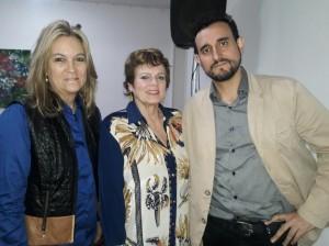 Lala Pêgas, Heloisa Beckamn, Chico Botelho, Biblioteca Pública, clic Fábio Lucas