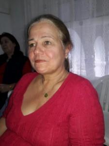 Rosa Almeida Salles, na palestra do Chico Botelho, Biblioteca Otávio Santos, dia 10, clic Fábio Lucas