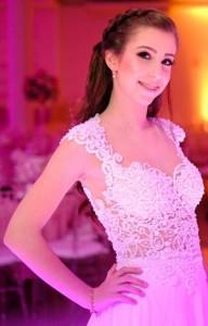 Maria Eduarda Budó Noguez, 15 anos, Pelotas. Ela é neta de Neisa e Wilton Budó