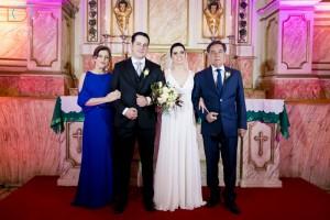 Edila, Caroline e Felipe, João Batista Dias, clic Dione Alves