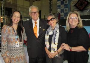 Liziane Lucas, Luiz Coronel, Elvira (Mercinha) Nascimento, Lúcia Gomes