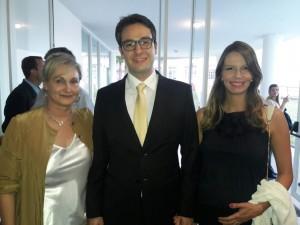 Neca Capiotti, Pedro Ernesto Capiotti Obino e Karine, clic Fábio Lucas