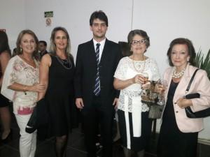 Rosane Kalil, Eliane Magalhães Kalil, Rodrigo Magalhães Kalil, Susana Magalhães, Maria do Carmo Nocchi Kalil, clic Fábio Lucas