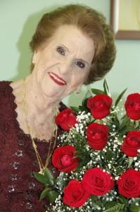 Reny Gallo Firpo e as rosas que chegaram e tomaram conta casa inteira, uau!