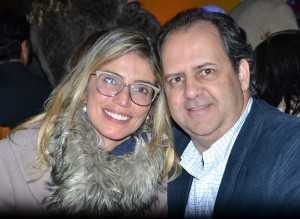 Patricia e Maurício Collares Machado