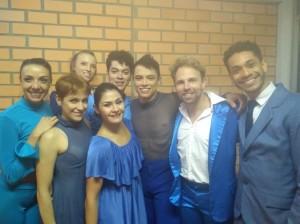 ' Focus Cia de Dança, Rio, no camarim, Dança Bagé, clic Carlos Kurt
