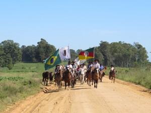 Serão percorridos cerca de 45 quilômetros Crédito: Anderson Ribeiro