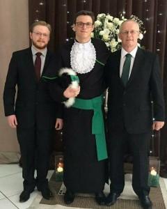 Médicos, os filhos e o pai : Wagner, Leonardo e Carlos José Quaresma Jeismann