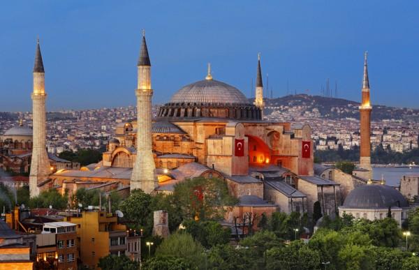 Basílica de Santa Sofia – Construção do século VI